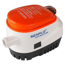 Seaflo Automatic Submersible Boat Bilge Water Pump 12v 750gph Auto with Flo K7M4