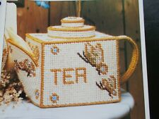 Teapot Tissue Cover Plastic Canvas Pattern 1991 - Best of Annie's