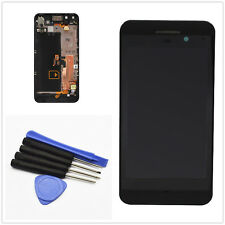 Front LCD Display + Touch Screen Digitizer + Frame For Blackberry Z10  4G Black
