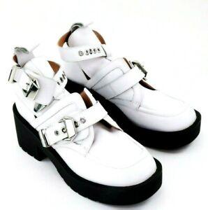 Jeffrey Campbell White Coltrane Boots US 8.5