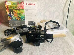Canon PowerShot G2 4.0MP Digital Camera Black Boxed