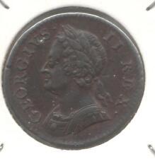Great Britain, 1754 George II Farthing