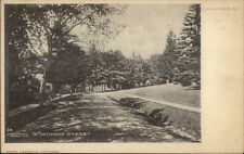 Englewood NJ Winthrop St. c1905 Postcard