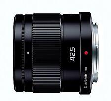 Panasonic LUMIX G 42.5mm/F1.7 ASPH./POWER O.I.S H-HS043-K Black Lens Japan New