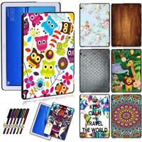 """Colorful Patterns Shell Case Cover For Huawei MediaPad M5 Lite 10.1""""/M5 10.8"""""""