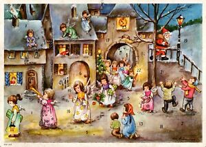 Vintage AGE Advent Christmas Calendar by Lore Hummel Germany