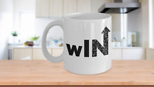WLN Novelty Coffee Mug - Motivate & Inspire to Lead &Win! Makes a Great Gift!