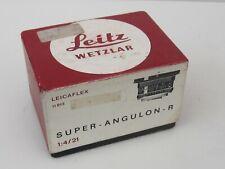 Leica Super Angulon-R 21mm f4 Lens (11813) - EMPTY BOX ONLY