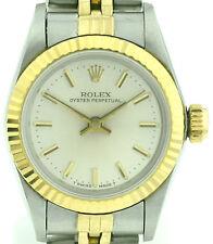 Rolex Oyster Perpetual acero/18k oro fantastico Lady Watch ref. 6917 3