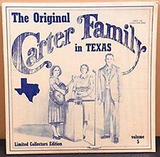 Carter Family - Original Carter Family in Texas Vol 5 - Old Homestead - Vinyl