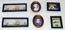 6 PICTURES DOLL HOUSE FURNITURE MINIATURES