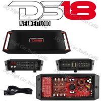 DS18 GEN X1600.4 4 Channel Amplifier Class A/B Amp 1600 Watts Max Car Audio