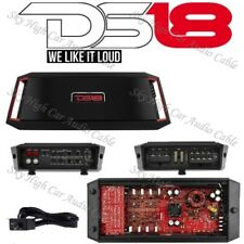 DS18 GEN X1600.4 4 Channel Amplifier Class A/B Amp 1600 Watts Max Car Audio