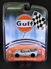 Greenlight Hobby Exclusive, 2009 C6 Corvette, Gulf Colors New Mint In Hand