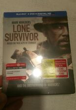 /// NEW  ///LONE SURVIVOR ///  BLUE-RAY STEELBOOK  ///