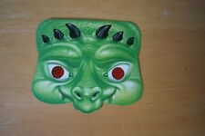 Rare Vintage FOX KIDS TV Daily Express HALLOWEEN Face Mask 2000 Haunted Weekend