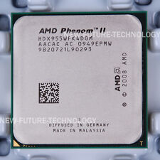AMD Phenom II X4 955 (HDX955WFK4DGM) CPU 667/3.2 GHz Socket AM3 100% Work