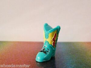 Shopkins Fashion Spree Series #47 BETTY BOOT Green Exclusive Mint Rare