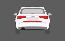 Audi A3 S3(3rd gen 8V)2016 - Present Clear Rear Bumper scratch Protection film