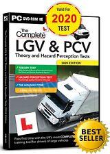 COMPLETE LGV HGV PCV DSA DVSA THEORY TEST HAZARD PERCEPTION  PC DVD CD 2020