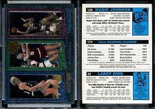 1996 Topps Stars Reprints #8 LARRY BIRD/JULIUS ERVING/MAGIC JOHNSON