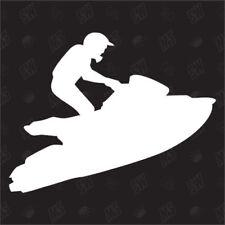 Jetski - Sticker, Fun Aufkleber, I love my Sport, Wassersport, Jet-Ski, Jet-Boot