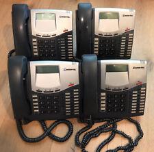 LOT OF 4 Inter-Tel 550.8520 Mitel LCD  Display Business Telephone 8520