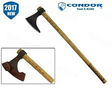 Condor Tool & Knife - Valhalla Battle Axe w/ Sheath CTK1004-2 NEW