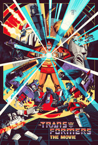 Transformers: The Movie Poster - Art Print - Wall Decor