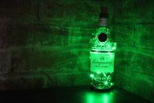 Tanqueray Gin Botella Lámpara LED Luces hacen Cueva de hombre Gran Regalo