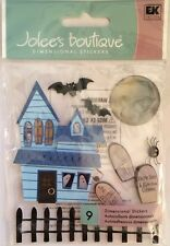 """Jolee's Boutique """"Scary Halloween"""" Haunted House Dimensional Stickers"""