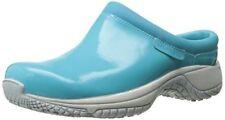 Merrell Womens Encore Moc Pro Tech Slip-Resistant Work Shoe, maui blue  sz 5.5 M