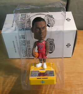 EDDIE CURRY 01-02 UD PLAYMAKER Rookie AUTO BOBBLE HEAD RC Bulls Doll AUTOGRAPH