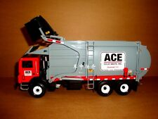 1/34 FIRST GEAR ACE SOLID WASTE MACK MR FRONT LOAD REFUSE TRASH TRUCK DUMP