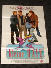 DOGFISH Kleine Haie- folded German Movie video promo Poster