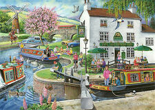 House Of Puzzles - 1000 PIECE JIGSAW PUZZLE - By The Canal Find The Differences
