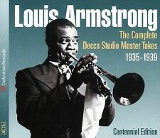 Complete Decca Studio Master Takes 1935-1939 by Louis Armstrong (CD, Mar-2004, D