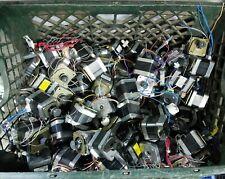 Lot Of 100 Mixed Nema 17 Stepper Motors Minebea Japan Servo Robot 3d Printer