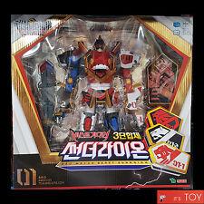 Geo Mecha Beast Guardian 01 THUNDERLION Lion Jaguar Tiger Transformer Robot Toys