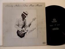 Scarce Funk/Soul - Randy Hebert LP One Man Music , RHM Music , 1982 - Signed
