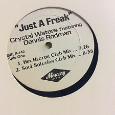 "Crystal Waters-just A Freak-12"" Single-dennis Rodman"