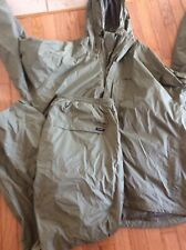 Lodge Outfitters Fishing Packable Outfit Coat/pants Mens Sz XL