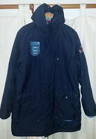 Awesome England Soccer Long Coat - Size Medium