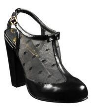 Vogue Women's Black J'Adore Pump High Heel Shoes Size 8 US