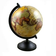 Globe World Map Antique Globe Beautiful Table Decor Home Office Globe 13.5 Inch