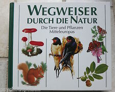 Wegweiser durch die Natur → Die Tiere und Pflanzen Mitteleuropas  geb. Buch