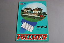 X447 VOLLMER Train catalogue maquette Ho N 1972 1973 30 pg 29,5*21 cm F + tarifs