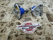 NEW CHROME Upper Ball Joints BLUE 55-70 Impala/Caprice & 55-57 Chevy Bel Air