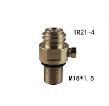 Adaptor M18x1.5 Thread Soda Stream tank Maker Valve Refill CO2