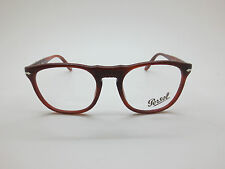 New Authentic PERSOL 2996-V 957 Brown RX Eyeglasses 52mm